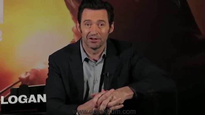Hugh Jackman has a special message for Indian Cricket fans.