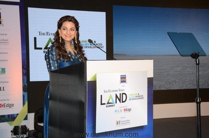 Juhi Chawla Mehta at the Land Summit 2017