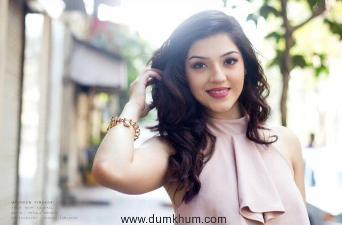 "Mehreen Pirzada makes her Bollywood debut with ""Phillauri"""