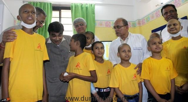 Nitin Gadkari inaugurated Child Care Centre of Mumbai Port Trust-