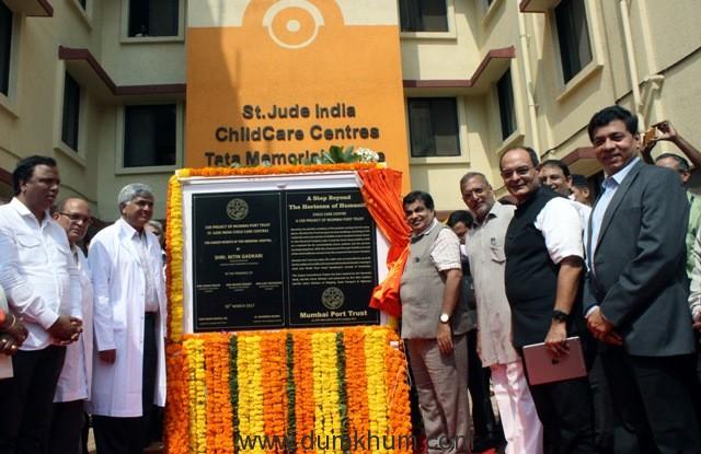 Nitin Gadkari inaugurated Child Care Centre of Mumbai Port Trust