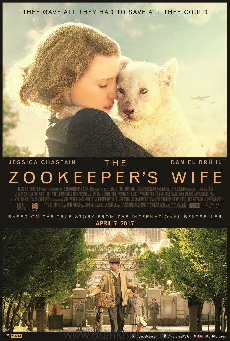 PVR Pictures' to release war drama 'The Zookeeper's Wife' on 7th April in India