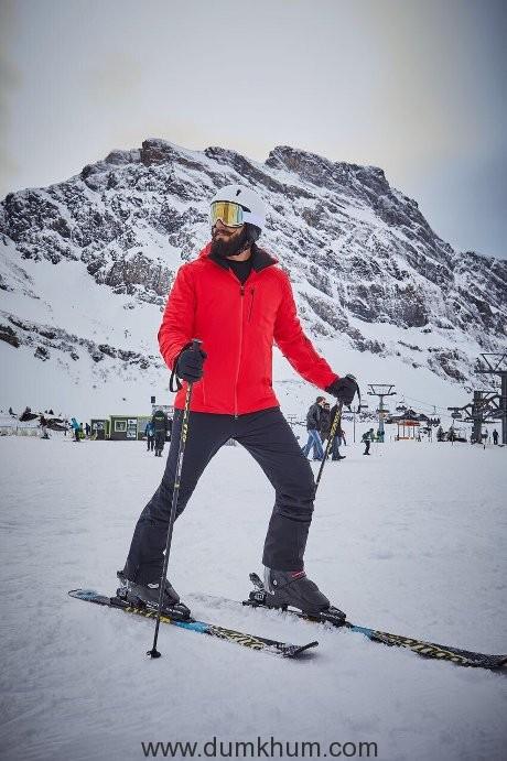 Ranveer's Swiss adventure-
