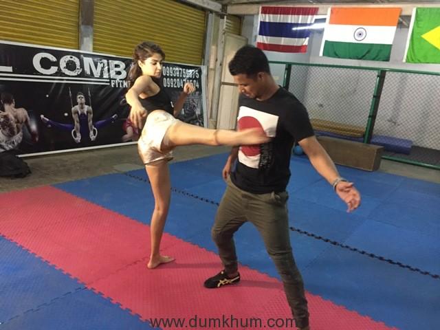 Rhea Chakraborty can kick some serious a$$