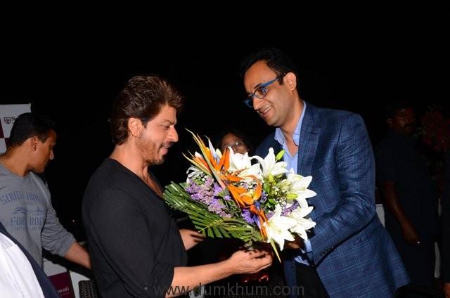 Shah Rukh Khan and Abhay Soi