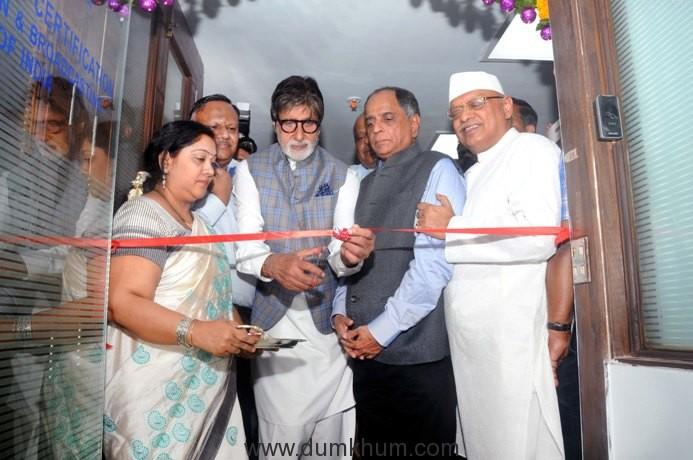 Amitabh Bachchan inaugurates CBFC's new office in Mumbai-1