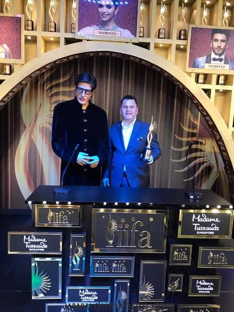 Andre Timmins, Director- Wizcraft International, the producers and creator of the IIFA movement at the launch
