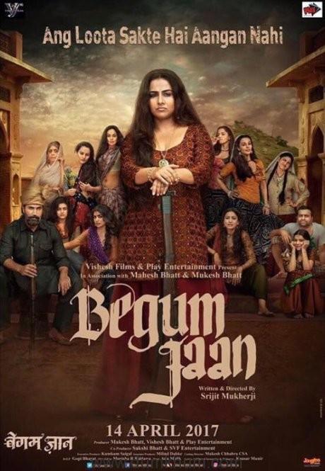Begum Jaan New Poster