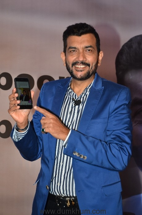 Chef Sanjeev Kapoor at his Mobile app launch (5)