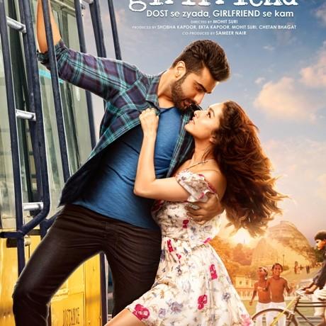 Half Girlfriend new poster set in Patna