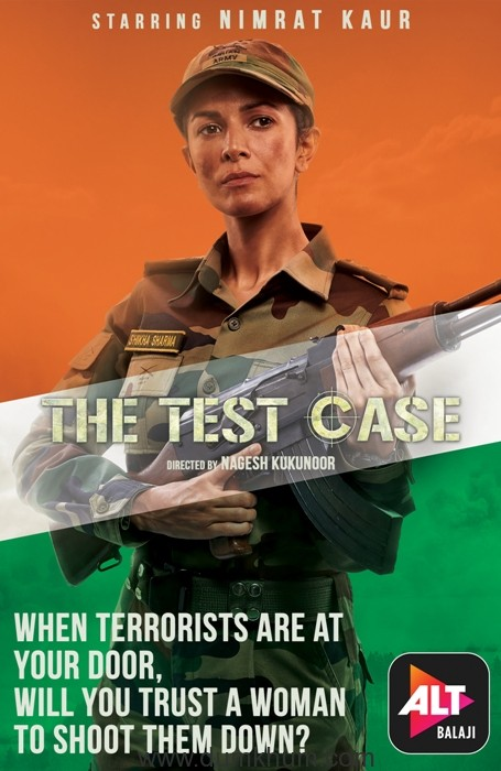 Nimrat Kaur's First Look in and as THE TEST CASE