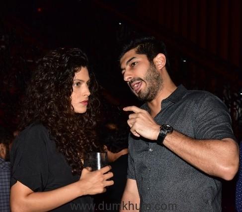 Saiyami Kher and Mohit Marwah