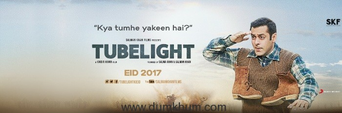 SONY MUSIC BEGINS 2017 WITH SALMAN KHAN'S TUBELIGHT
