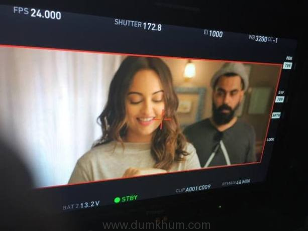 Sonakshi Sinha, and Aadil Shaikh in Move Your Lakk from the film Noor