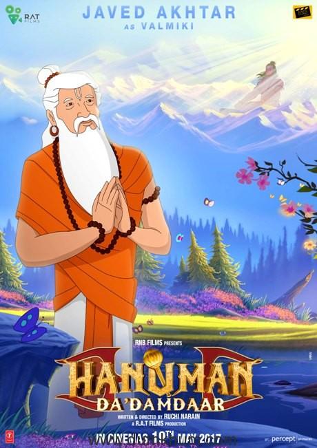 Javed Akhtar as Valmiki in Ruchi Narain's animated Hanuman Da Damdaar