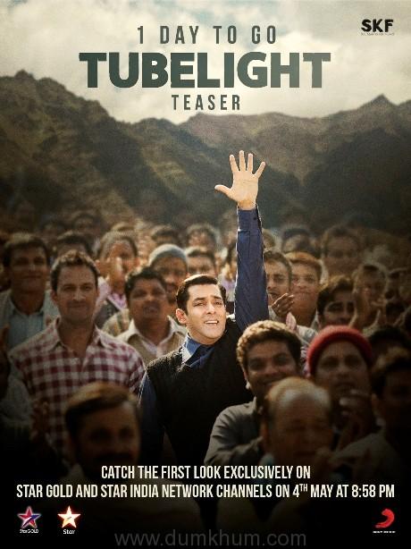 1 day to go - Tubelight Teaser
