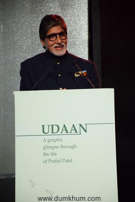 Amitabh Bachchan at UDAAN Book Launch (5)