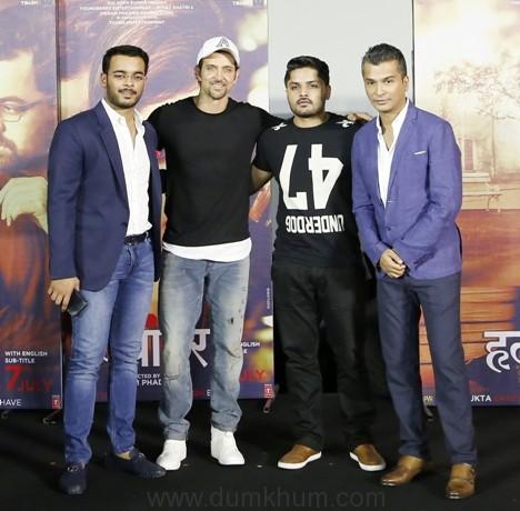 Hrithik Roshan launches the trailer of Vikram Phadnis' Hrudayantar!