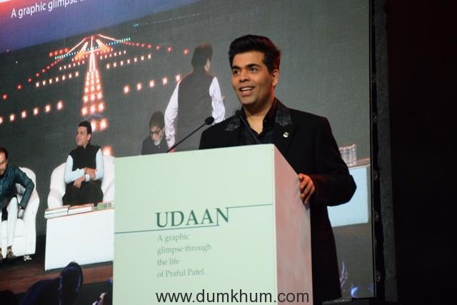 Karan Johar at UDAAN Book Launch (2)