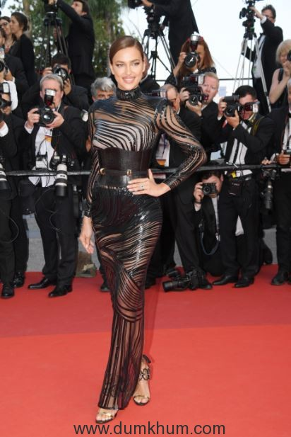 L'Oréal Paris ambassadors glam up the red carpet on Day 8 of red carpet at Cannes Film Festival 2017