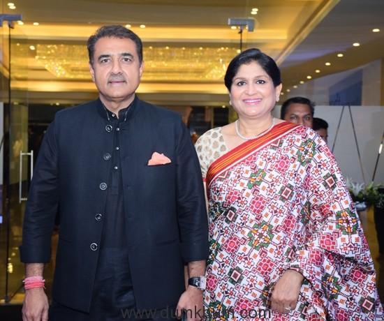 Praful Patel and Wife Varsha Patel (1)