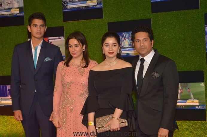 Sachin Family