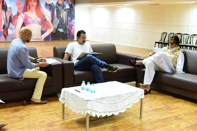Amitabh Bachchan and Aamir Khan Gear Up for Thugs of Hindostan