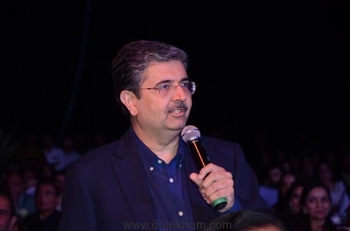 Uday Kotak at Udaan Launch (1)