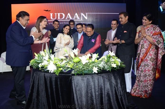 Vijay Darda's Cake Cutting at the launch
