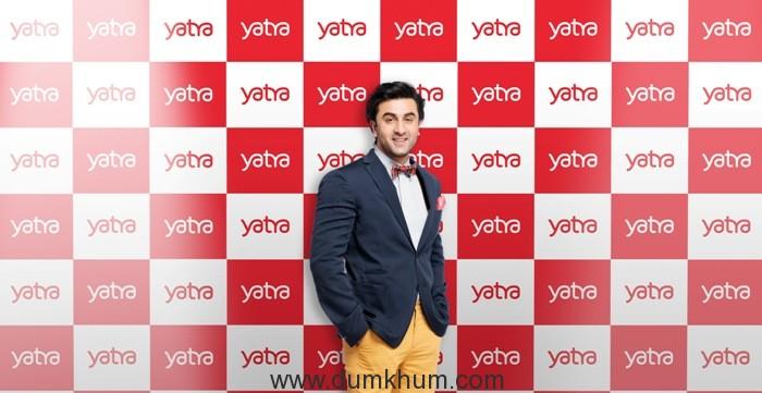 Bollywood superstar, Ranbir Kapoor roped in as Yatra's new Brand Ambassador