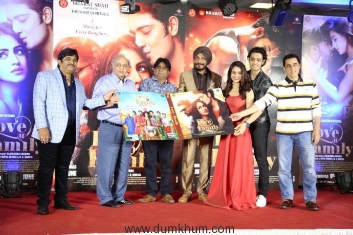 from left Vipul Devani ,Bharat Shah, Sachindra Sharma, Aksha Pardasany, Kashyap, Faisal Khan