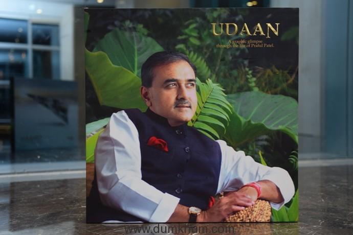 udaan book launch Praful Patel