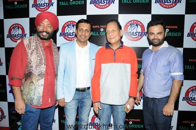 37. Chef. Harpal Singh, Kapil Pathare, Savan Kumar Tak, and Karan Tanna DSC_9708