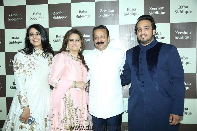 Baba Siddique & Zeeshan Siddique host their annual Iftaari celebration !