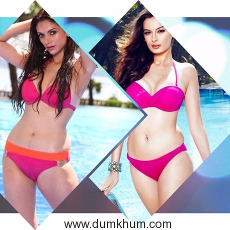 Evelyn Sharma is Bollywood's pink bikini prototype