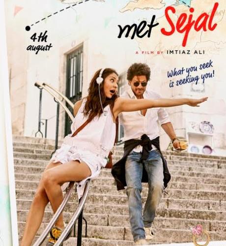 Shah Rukh Khan, Anushka Sharma on the first posters of Imtiaz Ali's Jab Harry Met Sejal