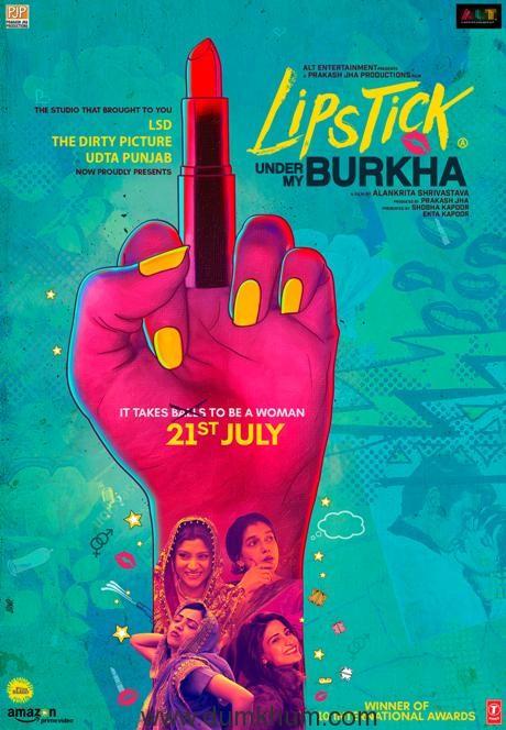 Presenting the powerful poster of Lipstick Under My Burkha!
