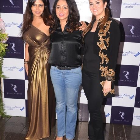 Rebecca Dewan Launches Persian Amira along with Nisha JamVwal and celebrities