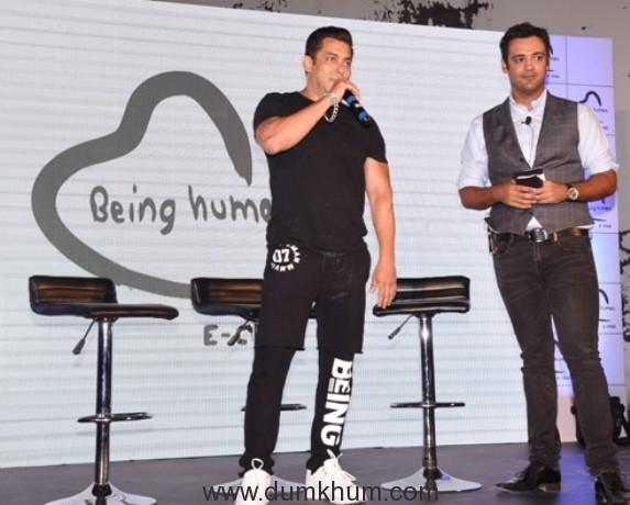 Salman Khan and Rehan Poncha, Olympian Swimmer & Arjuna Awardee