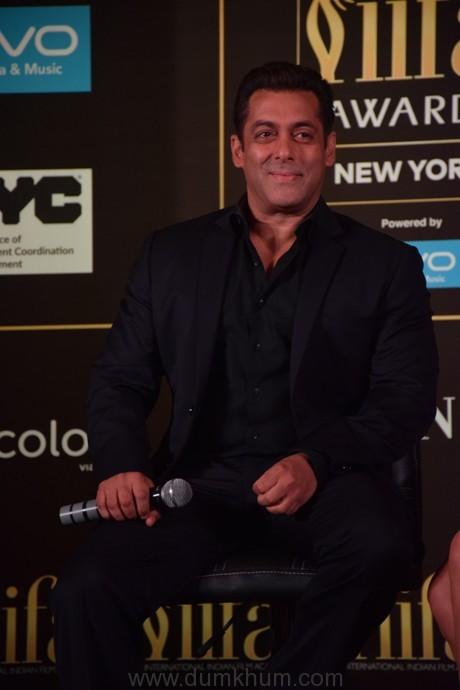 Salman Khan at the Official IIFA Press Conference, Mumbai (1)