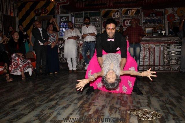 Sandip Soparrkar with Tao Porchon Lynch2
