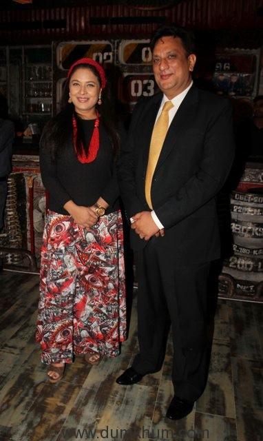 Sharbani Mukherji with Dr. Diwakar Sukul, Chairman, World Book of Records