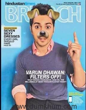 Varun dhawan shoots for HT Brunch -