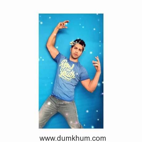 Varun dhawan shoots for HT Brunch -1