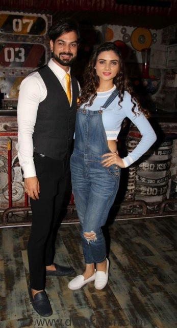 Yuvraj Parashar with Sezal Sharma