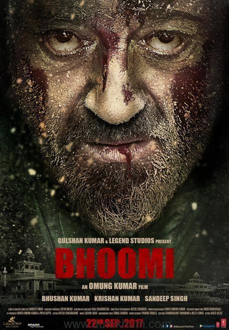 'Bhoomi' poster reveals an intense Sanjay Dutt