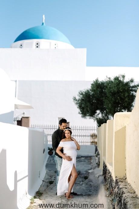 Esha Deal, Bharat's 'Babymoon' in picturesque Greece -