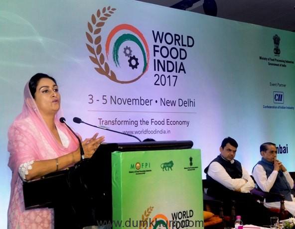 Food Sector is set to roll – Harsimrat Kaur Badal-