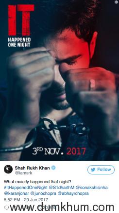 Ittefaq - It Happened One Night - Posters