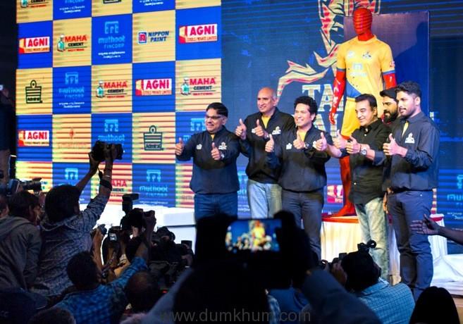 Kamal Hassan at Sachin Tendulkar's Pro Kabbadi league team Tamil Thalaivas launch 003